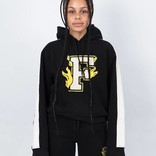 Puma Fenty Hooded Panel Sweatshirt Cotton Black