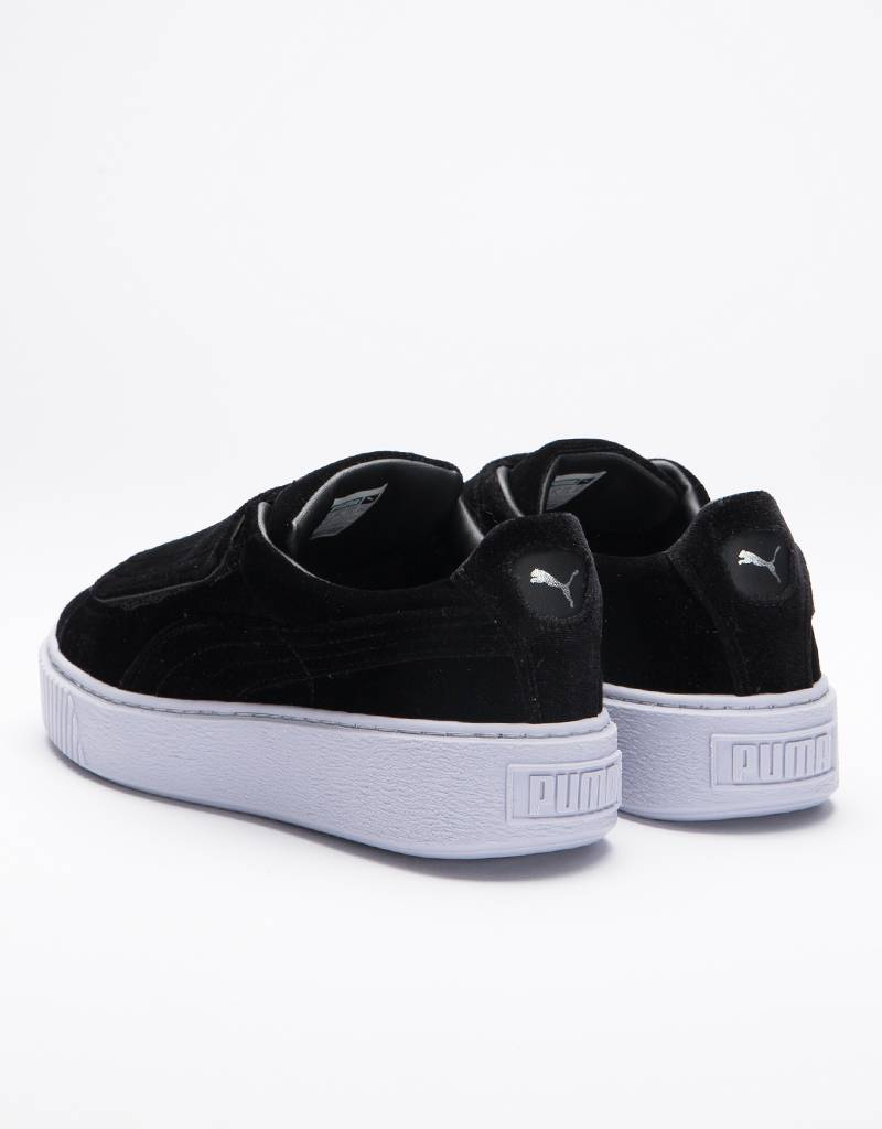 Puma Platform Strap Women's Black/Black