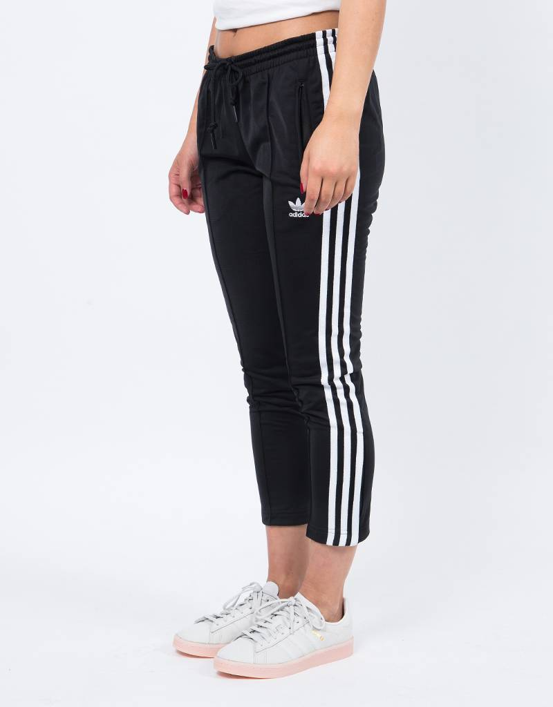 Adidas cigarette pant black