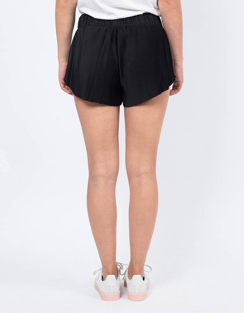Adidas 3 Stripe Short Black