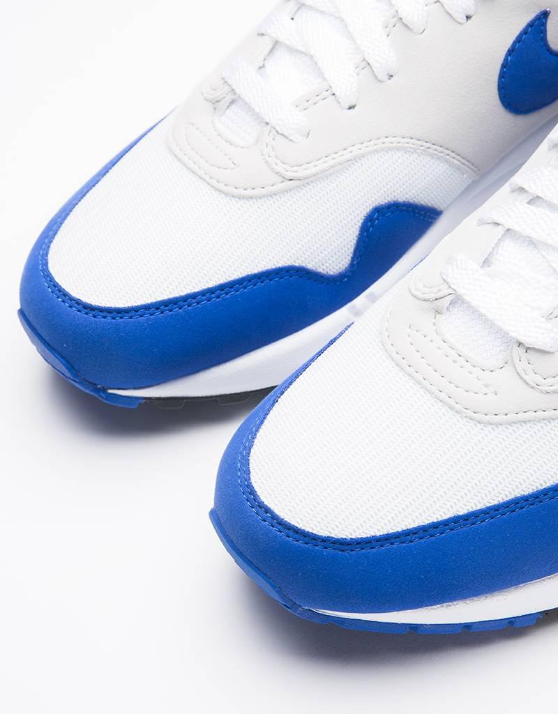Nike Air Max 1 Anniversary White/Game Royal-Neutral Grey-Black