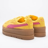 Puma Fenty Womens Cleated Creeper Lemon-Carmine-Vanille Ice