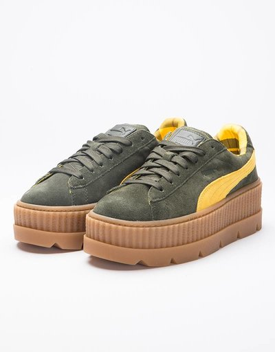 Puma Fenty Womens Cleated Creeper Rosin-Lemon-Vanilla-Ice