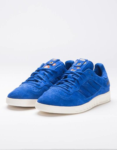 Adidas Consortium Handball Top Footpatrol x Juice Power Blue/Chal White