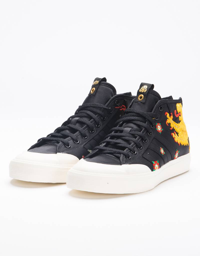 Adidas Matchcourt Mid Footpatrol X Juice Core Black/Chal White/Gold Metal