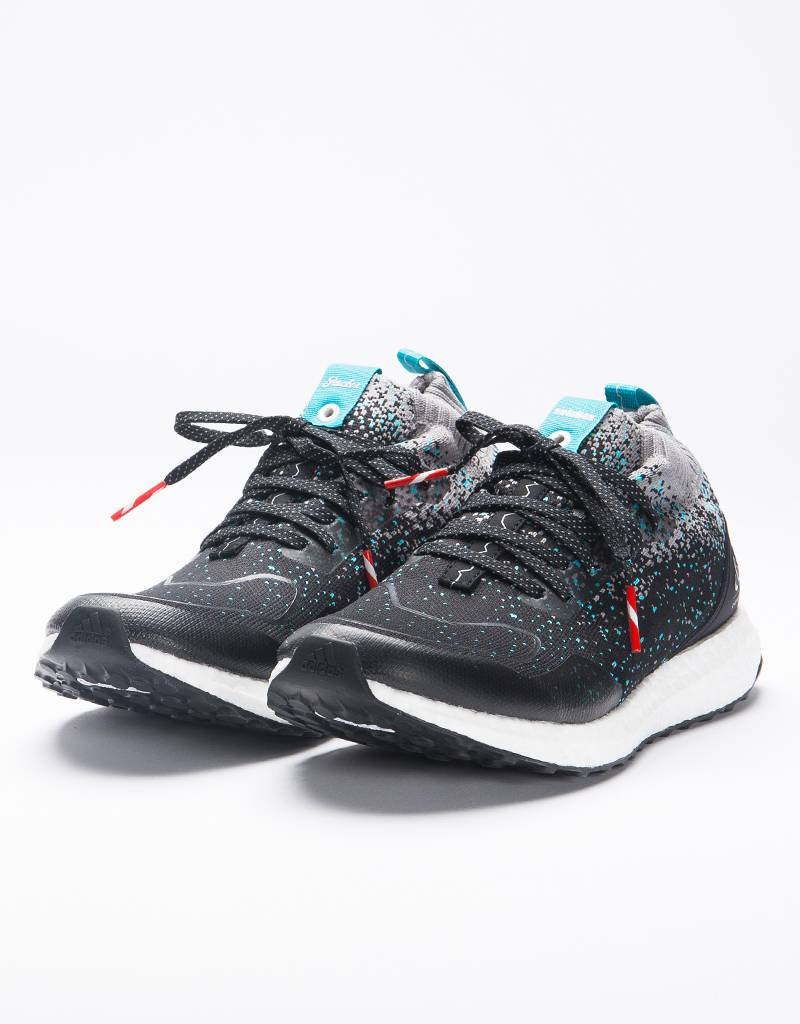 Adidas Consortium Ultraboost Mid Packer X Solebox Core Black / Energy Blue