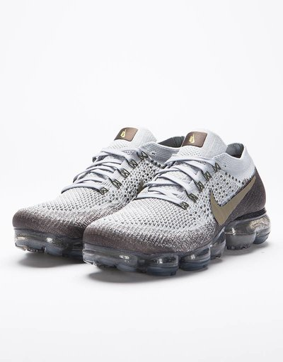 NikeLab Air Vapormax Flyknit Midnight fog/medium olive-wolf grey