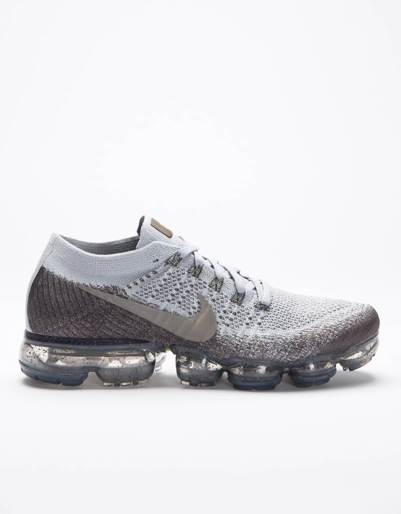 NikeLab Air Vapormax Flyknit Midnight fog/medium olive-wolf grey