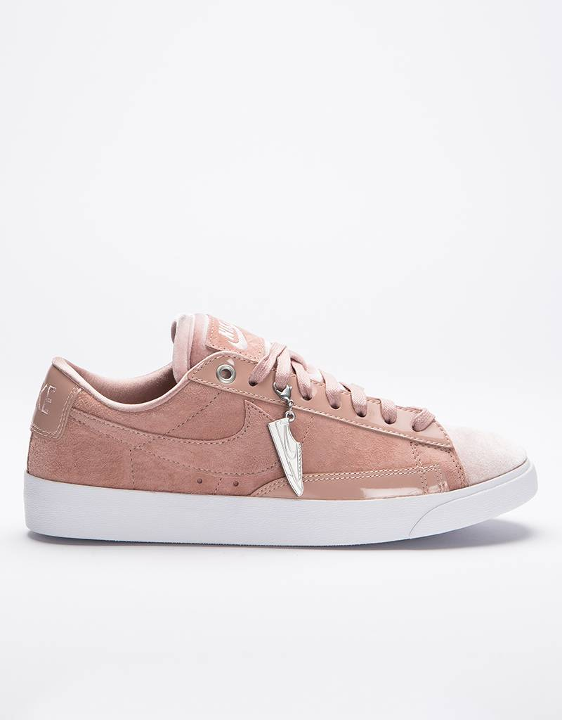 Nike Women's Blazer Low LX Particle Pink/Silt Red White