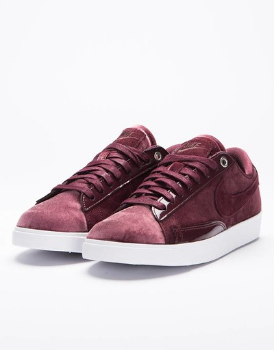 Nike Women's Blazer Low LX Burgundy Crush/Burgundy Ash-White