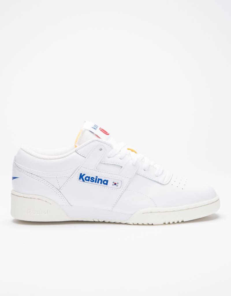 Reebok x Kasina Workout Low Clean White