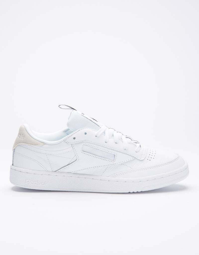 "Reebok Club C 85 ""Iconic Taping"" White/Skull Grey/Black"