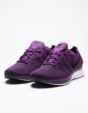 Nike Nike Flyknit Trainer Night Purple/Black-White