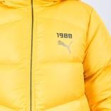 Puma Fenty Full Length Quilted Coat Lemon