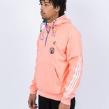 Adidas Pharrell Williams HU Hiking Hooded Sweatshirt Sun Glow/EQT Green