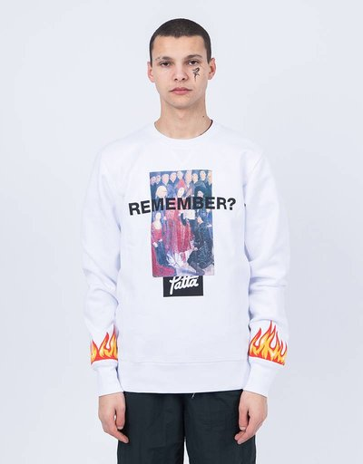 Patta NO Six Crewneck White