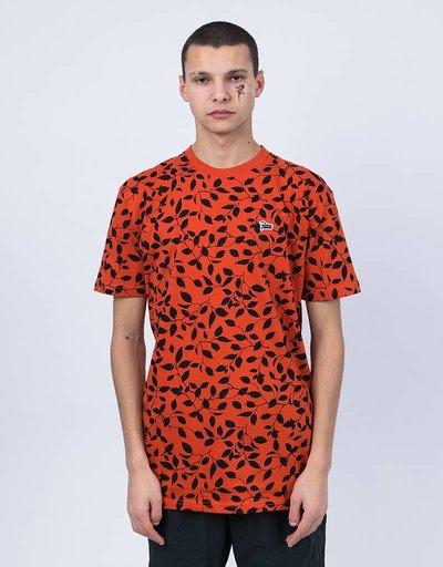 Patta Leaf AOP T-Shirt Pumpkin