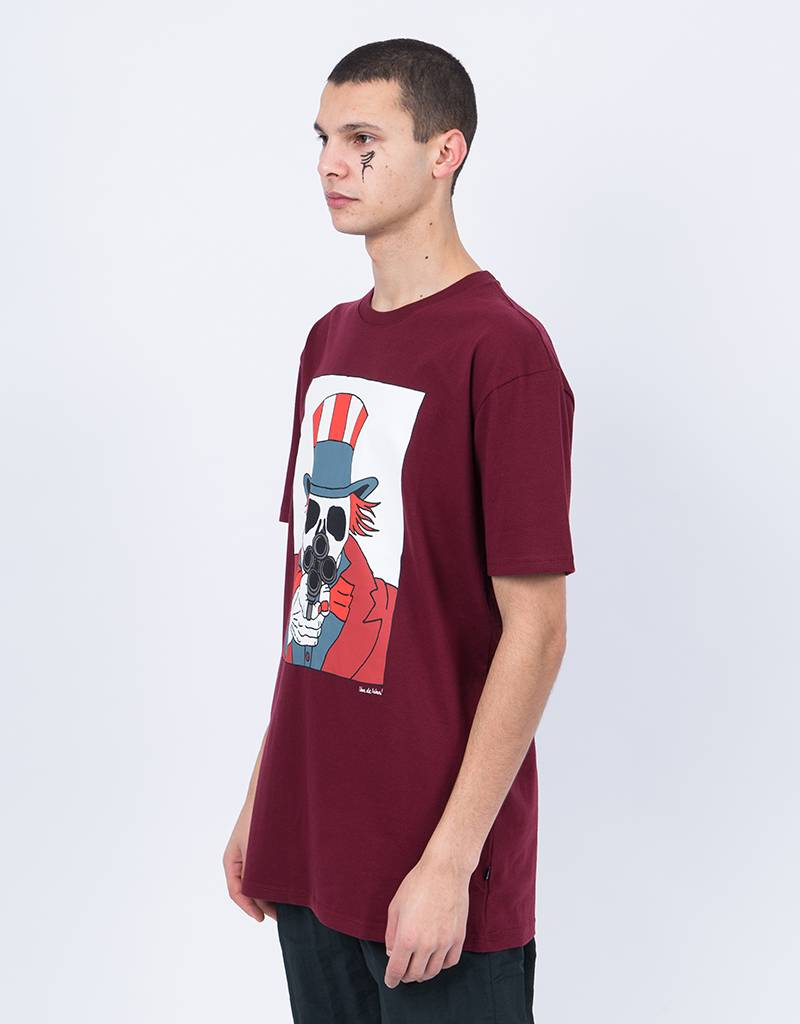 Patta Sign Of The Times T-Shirt Tawny Port