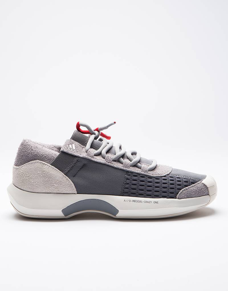 Adidas Consortium Crazy 1 A//D Grey/ Grey/ Power Red