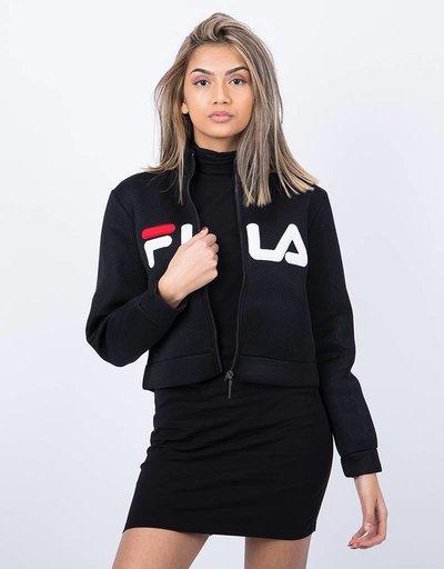 Fila Nicole Cropped Jacket Black