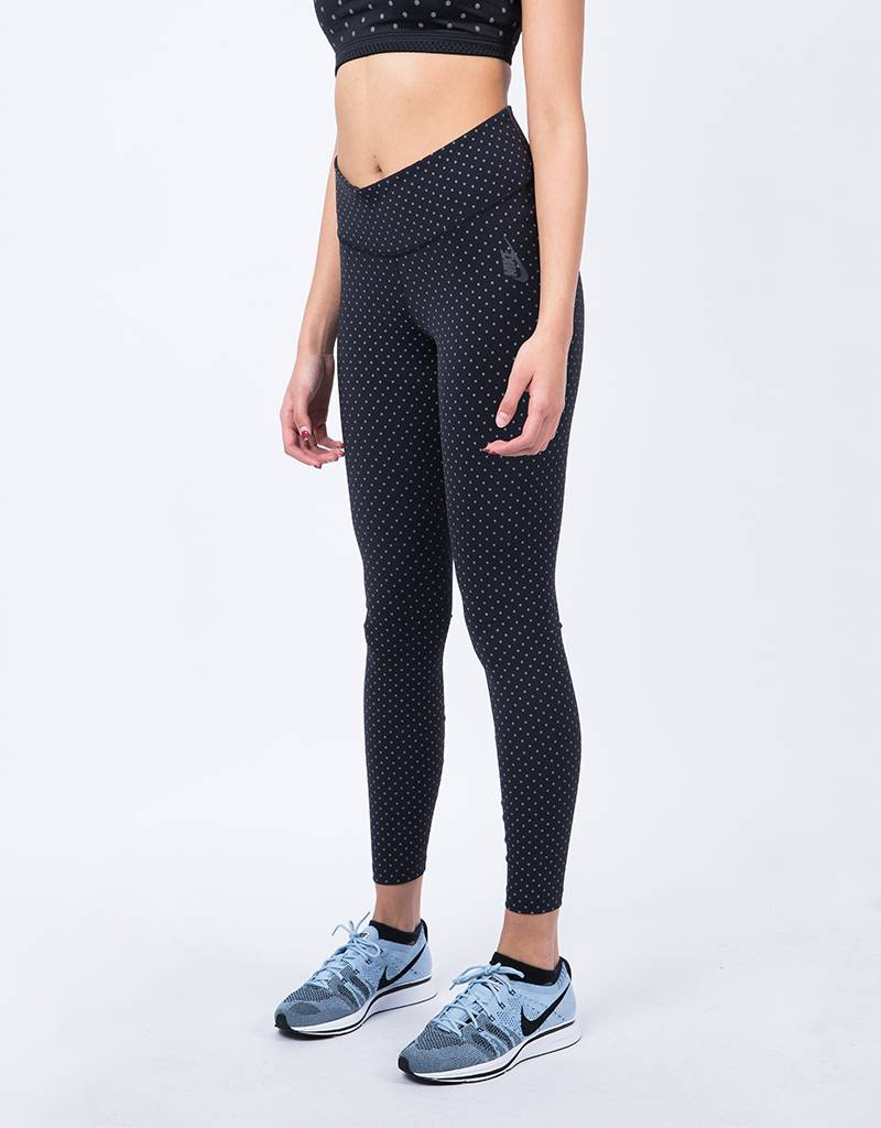 NikeLab Ess Tr Leg Tight Aop Black
