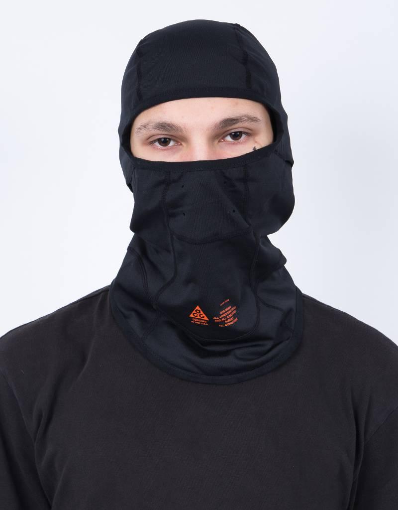 Nikelab balaclava acg black/team orange