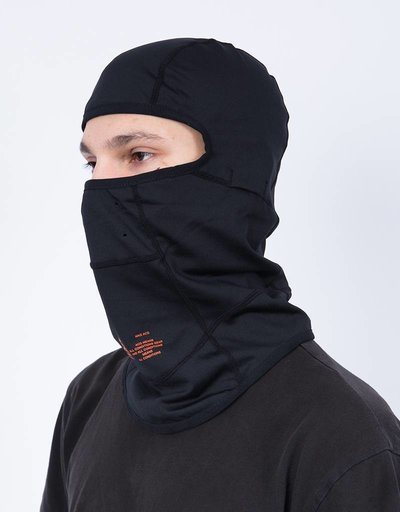 Nikelab balaclava acg black/team orange