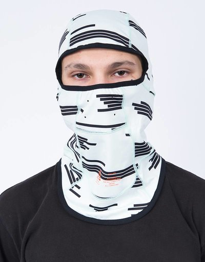 Nikelab balaclava acg barely green/black/team orange