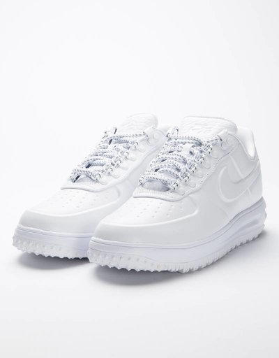 Nike lunar force 1 duckboot low premium white/white-white