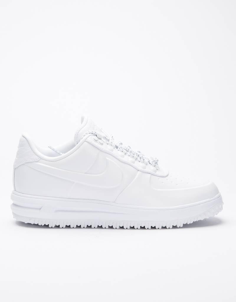 Nike lunar force 1 duckboot low premium white/white-white