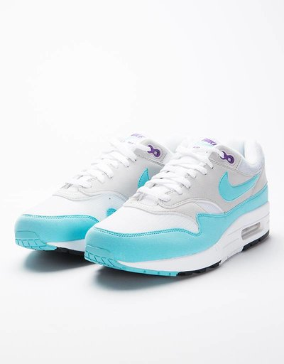 Nike Air Max 1 Anniversary QS white/aqua-neutral grey-black