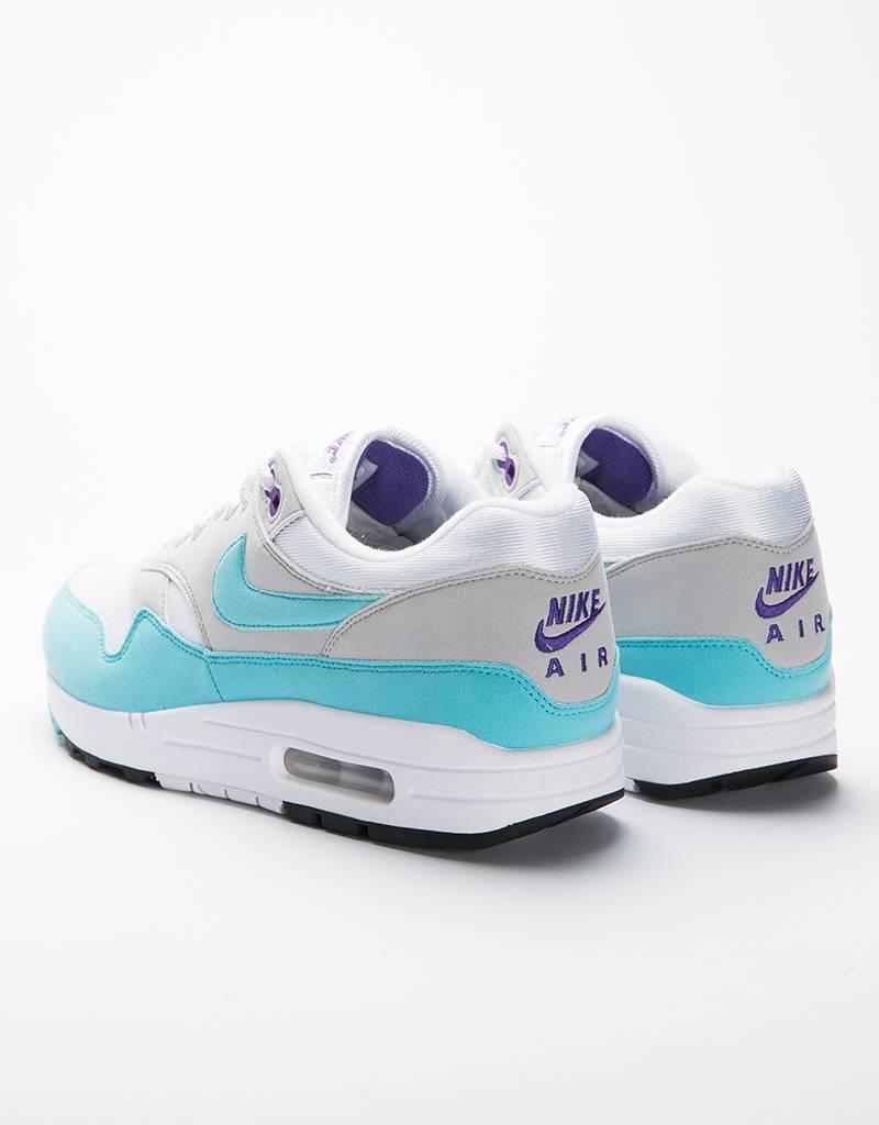 Nike Air Max 1 Anniversary QS white/aqua-neutral grey-black