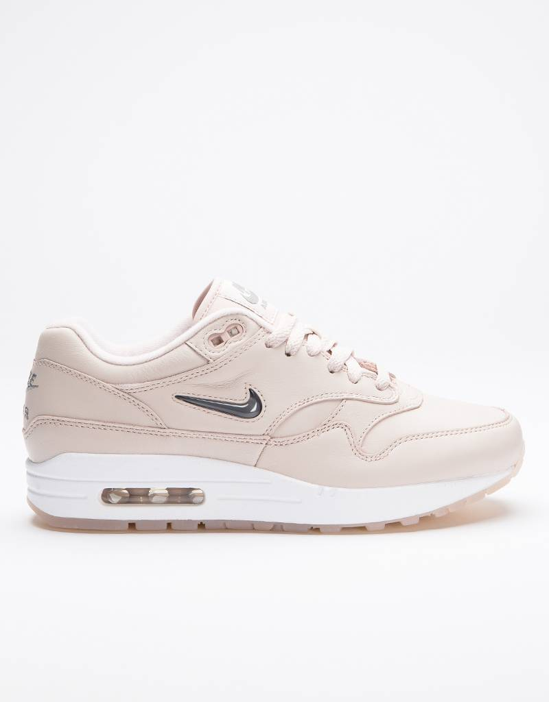 Nike Women's Air Max 1 Premium SC Silt Red/Cool grey-white
