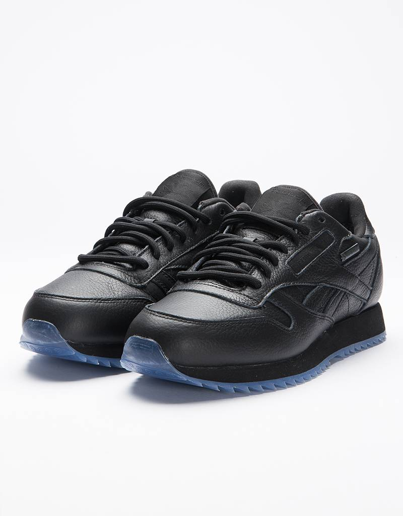 Reebok X Raised By Wolves CL LEATHER RIPPLE G BLACK/WHITE-ICE