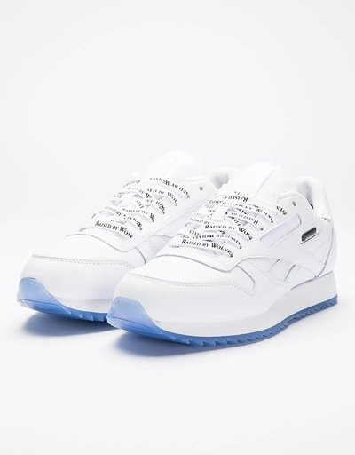 Reebok X Raised By Wolves Cl Leather Ripple G White/Black-Ice