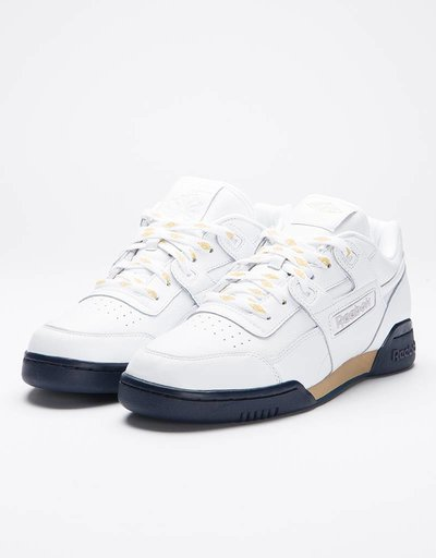 Reebok Workout Lo Plus Beams White Gold Met/Coll