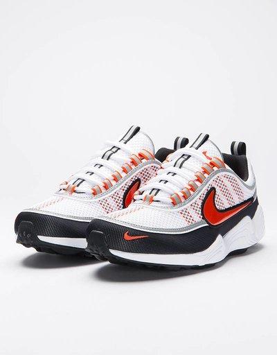 Nike Air Zoom Spiridon '16 White/Team Orange-Black-Mettalic Silver
