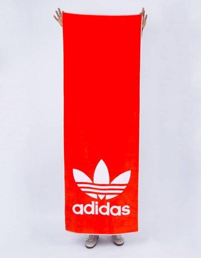 Adidas towel adicolor hirere/white