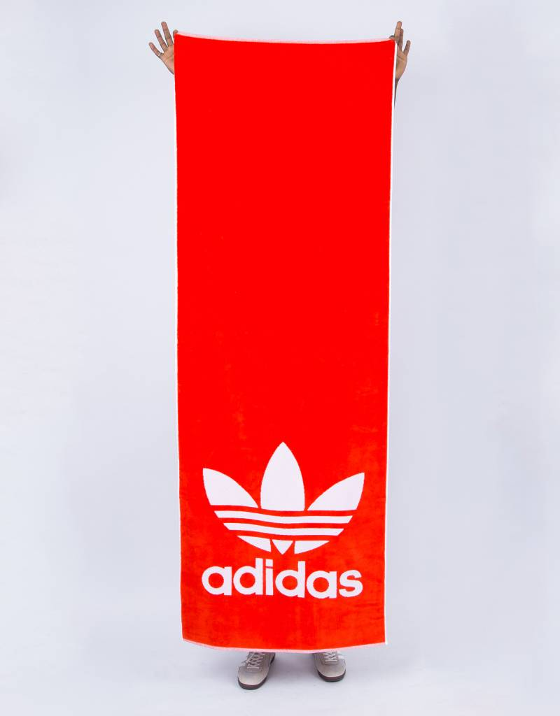 Adidas towel adicolor hirere/white