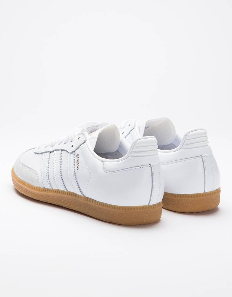 Adidas samba w ftwwht/ftwwht/gum