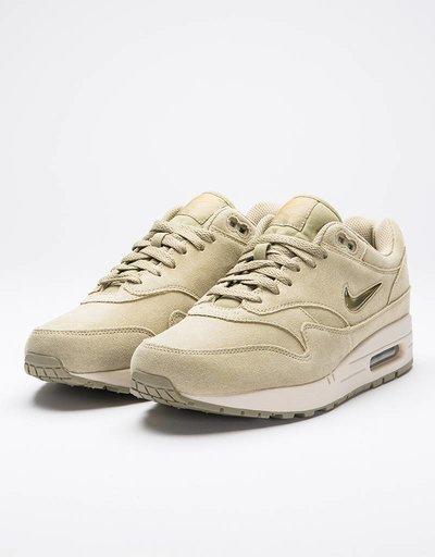 Nike Air Max 1 Premium SC Shoe Neutral Olive/Mettalic Gold-Desert Sand