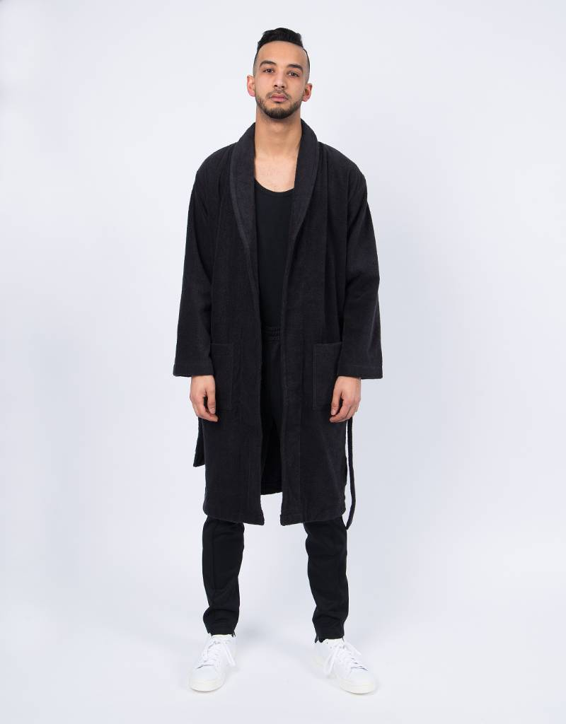 TREFOIL ROBE BLACK