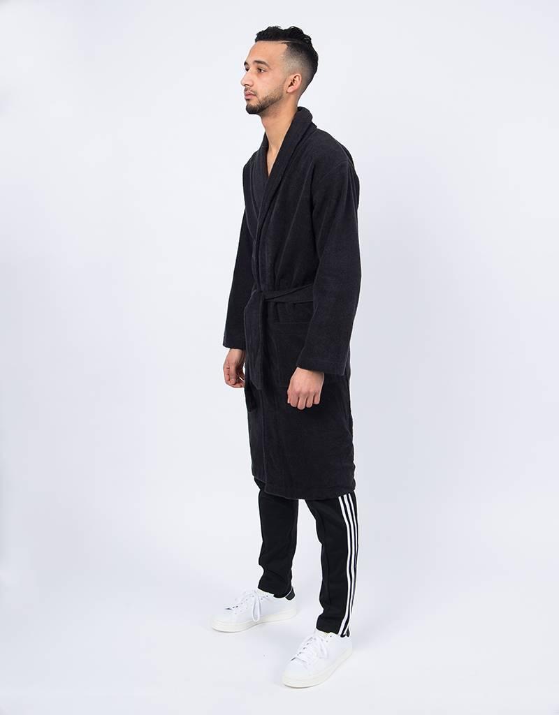 Adidas trefoil robe black