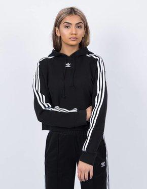 Adidas Adidas Cropped Hoodie Black