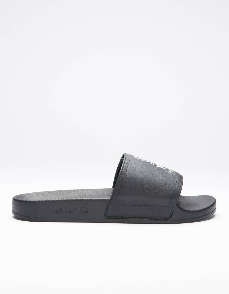 Adidas Y-3 ADILETTE core black / ftwr white / core black
