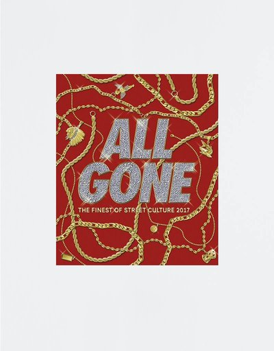 ALL GONE 2017 book Red