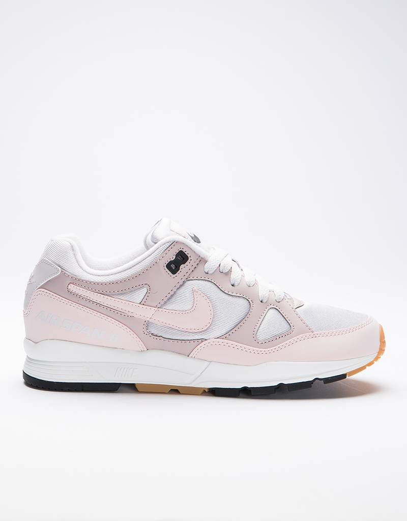 Nike women's air span ii vast grey/barely rose-particle rose