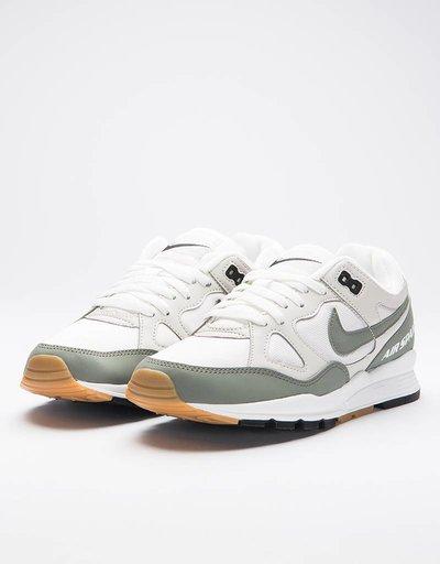 Nike women's air span ii summit white/dark stucco-light bone
