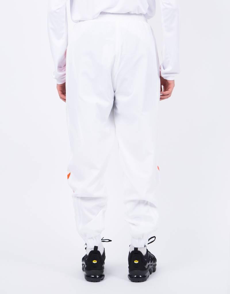 Hummel X 424 Track Pant White Red Orange