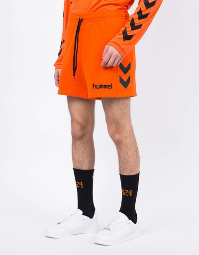 Hummel X 424 Shorts Red Orange